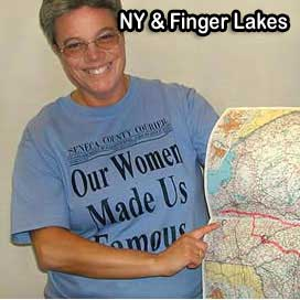 finger lakes NY t-shirt